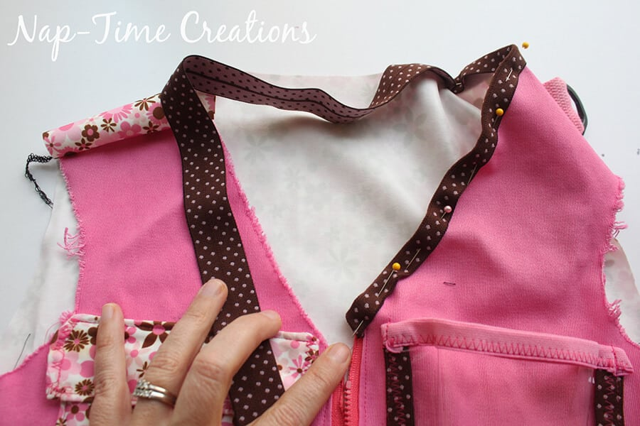 explorer vest tutorial and free sewing pattern