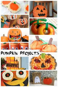 Pumpkin Projects and Create Link Inspire Party
