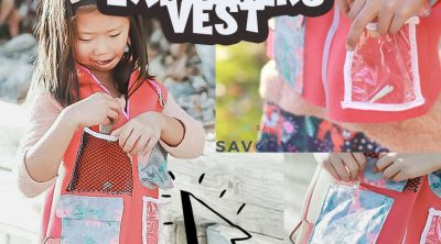 kids explorer vest free sewing pattern