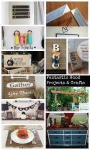 Wooden crafts for the home {features!}
