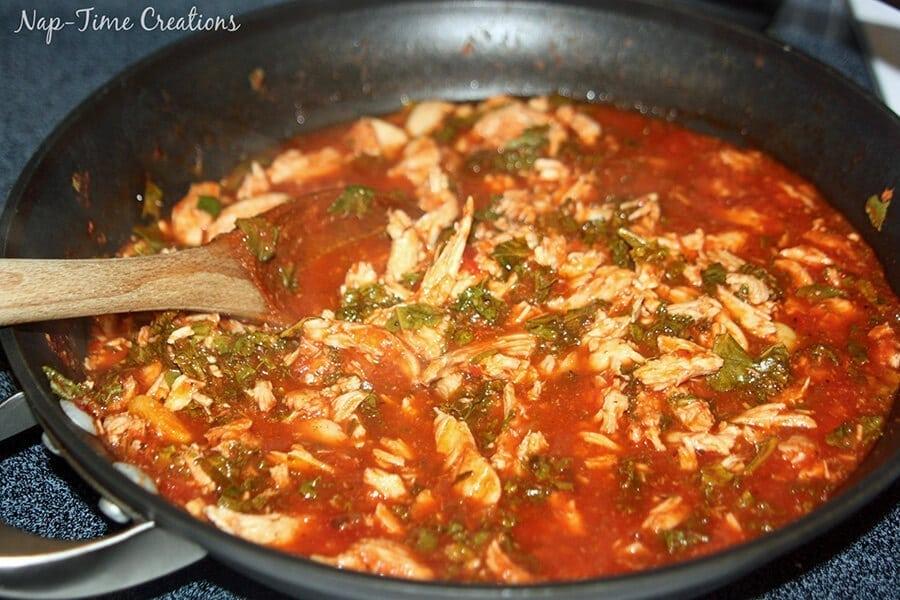 Kale Chicken with Ragu Rice2