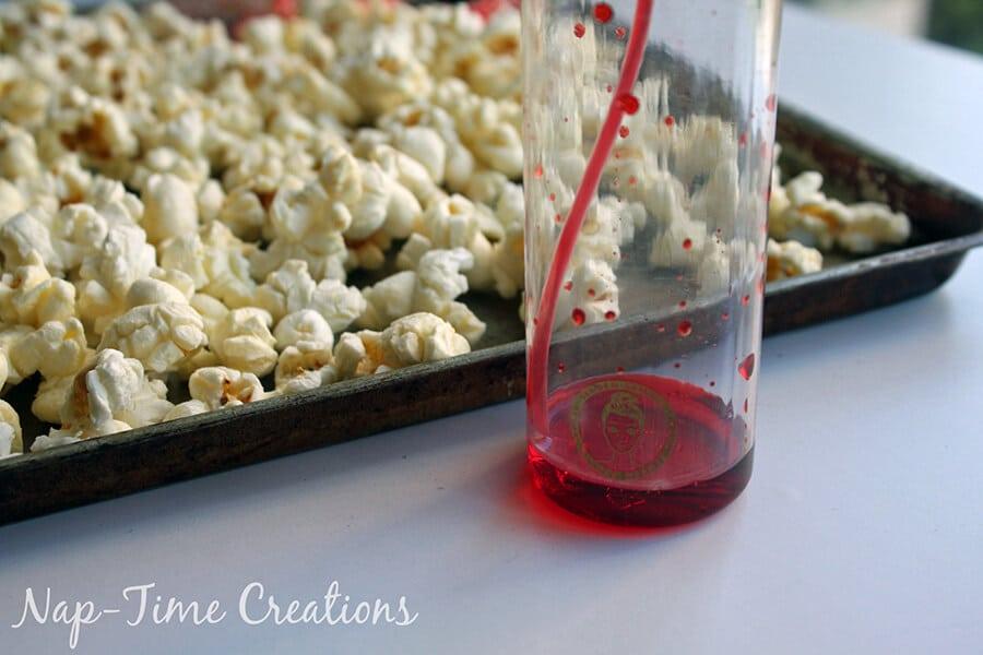 Rainbow Popcorn Craft #FunSideOut 2