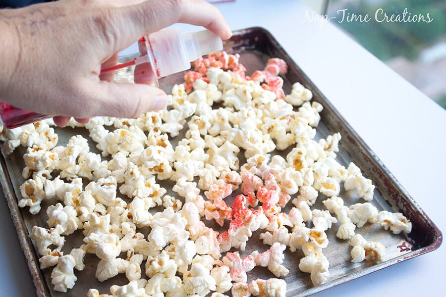 Rainbow Popcorn Craft #FunSideOut 3