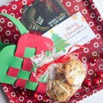 Woven Door Basket for Cookies with #SpreadCheer