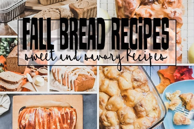 bread recipes to bake this fall a huge list from Life Sew Savory
