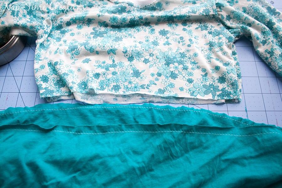 free t-shirt dress pattern 11