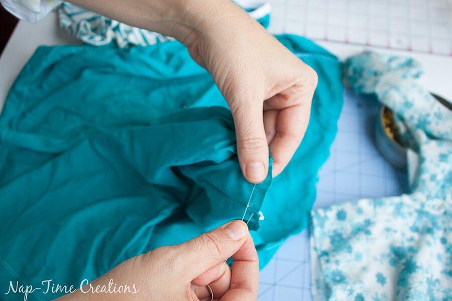 free t-shirt dress pattern 12