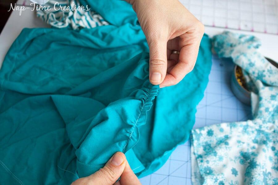 free t-shirt dress pattern 13