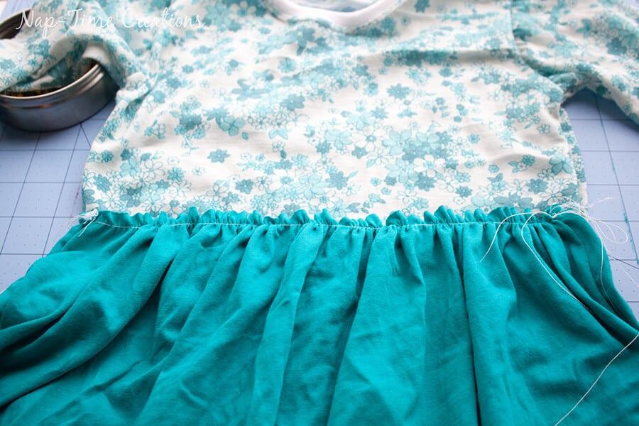 free t-shirt dress pattern 15