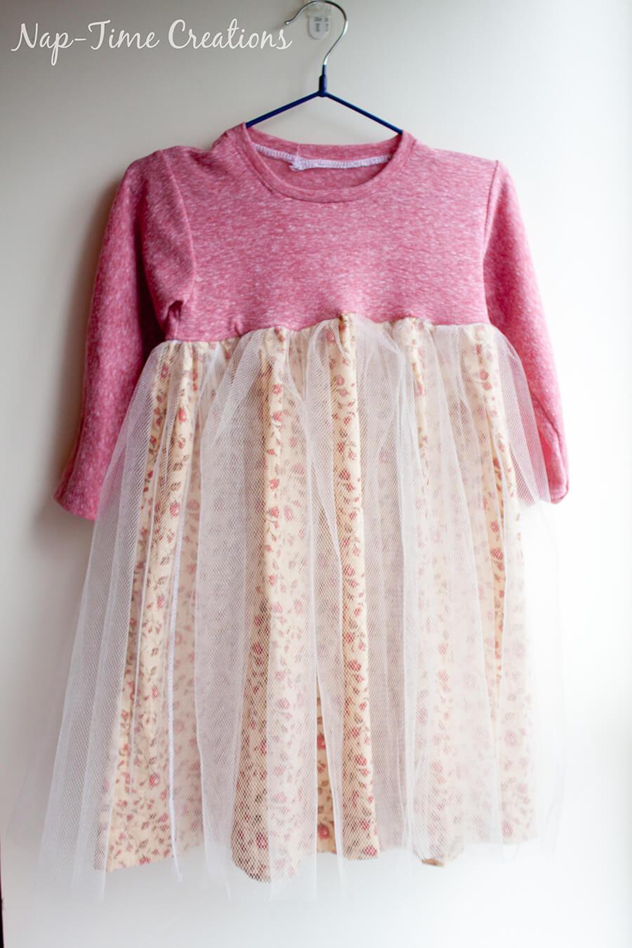 free t-shirt dress pattern 4