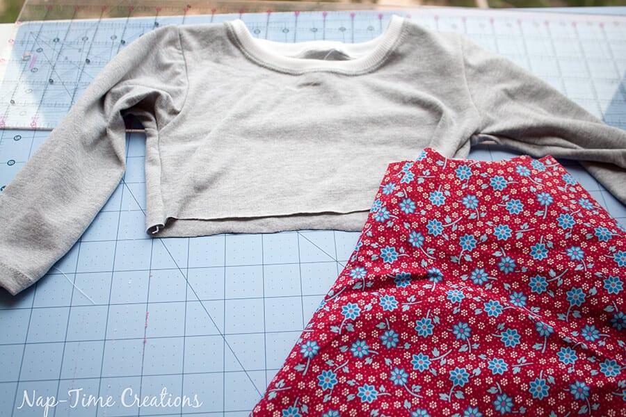 free t-shirt dress pattern 6