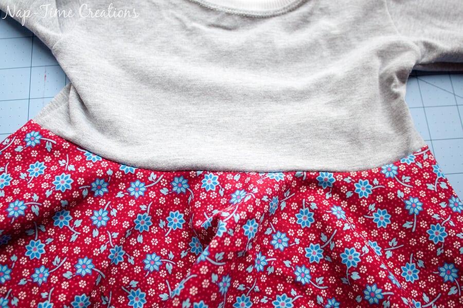 free t-shirt dress pattern 7