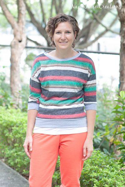 slouchy sweatshirt pattern