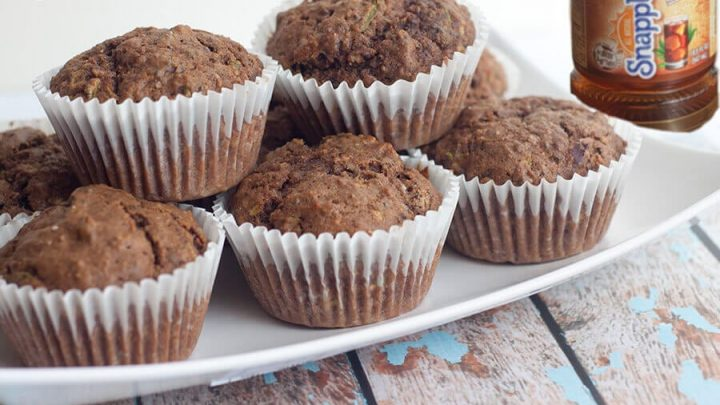 Sorta Sweet Tea and Zucchini Muffin Recipe