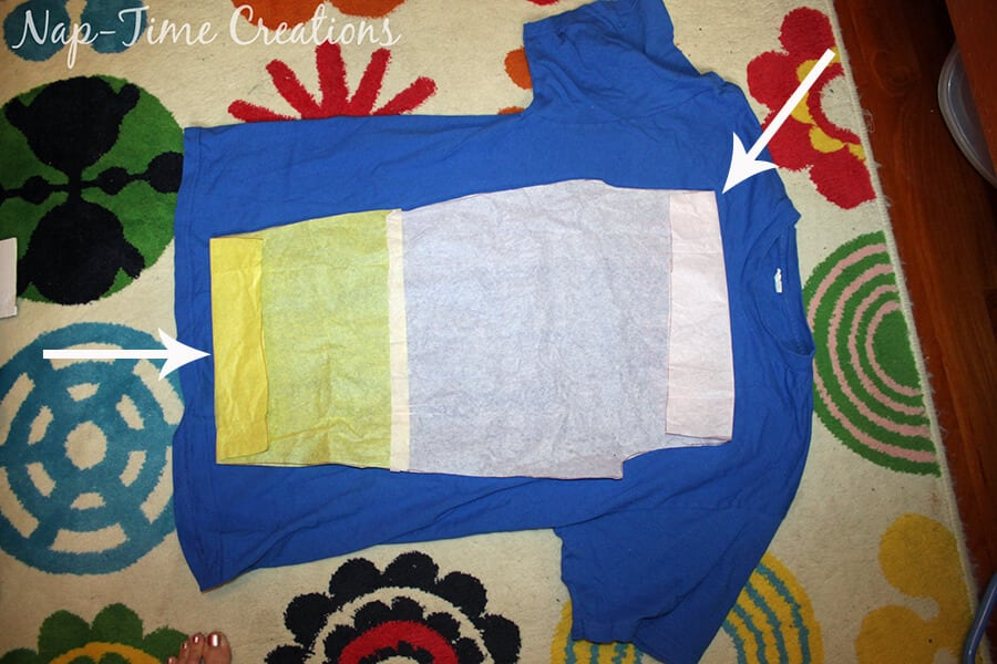 upcycling t-shirts to pjs 4