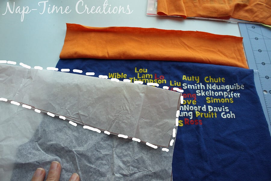 upcycling t-shirts to pjs 6