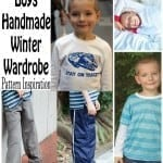 Boys handmade clothes for winter FREE patterns from Nap-Time Creations