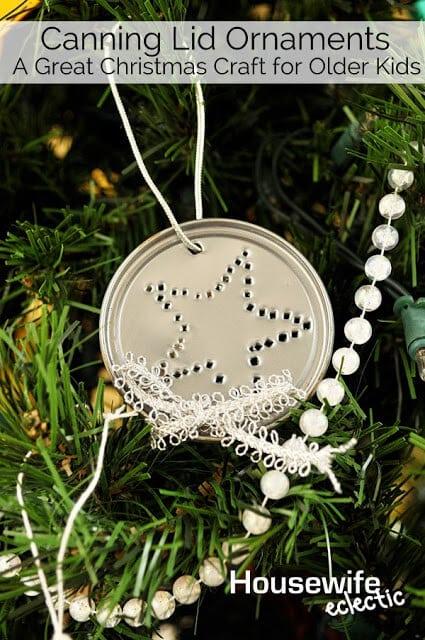 Canning Lid Ornaments