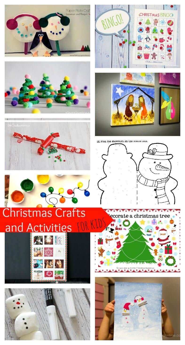 christmas crafts and activities for kids nap time creations
