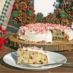 Peppermint Cookie Cake – dress up a box cake for easy holiday entertaining