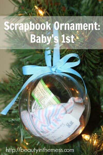 Scrapbook-Ornament