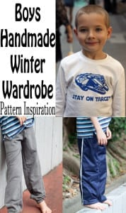 boys winter wardrobe pattern inspiration and Ideas from Nap-Time Creations