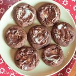 Chocolate Mint Cookies {for Santa?}