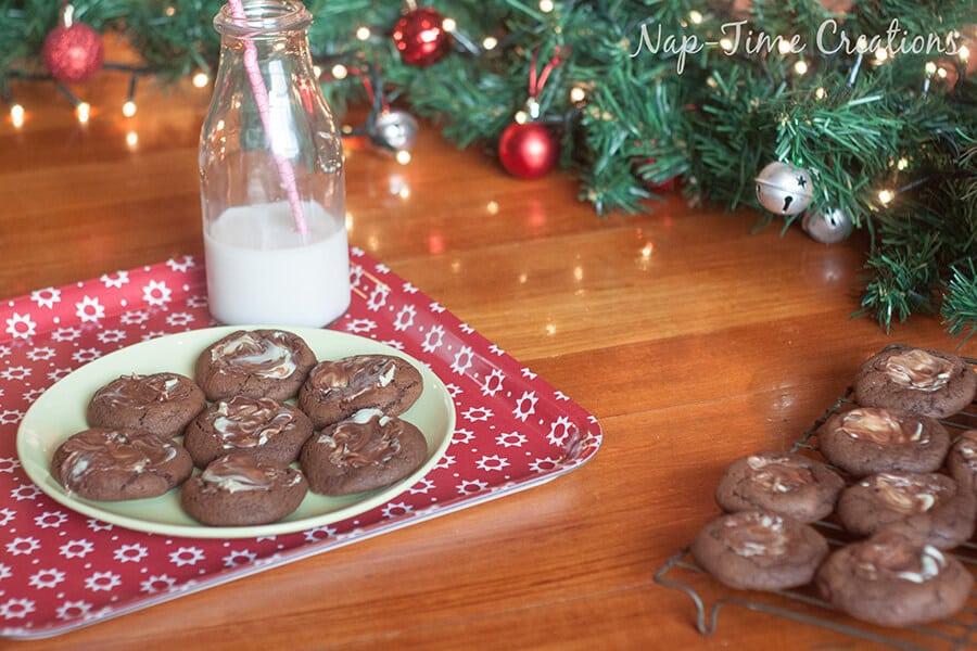 chocolate mint cookies 3