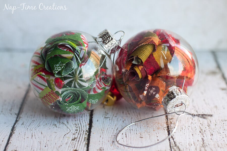 fun filled ornament ideas fabric filled