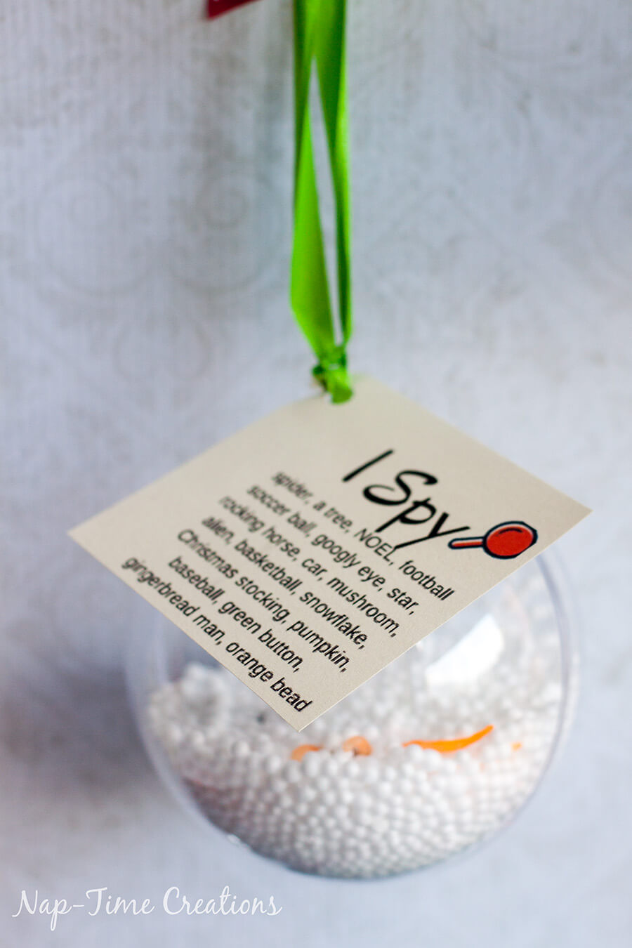 ornaments for kids gift ideas I SPY ornament