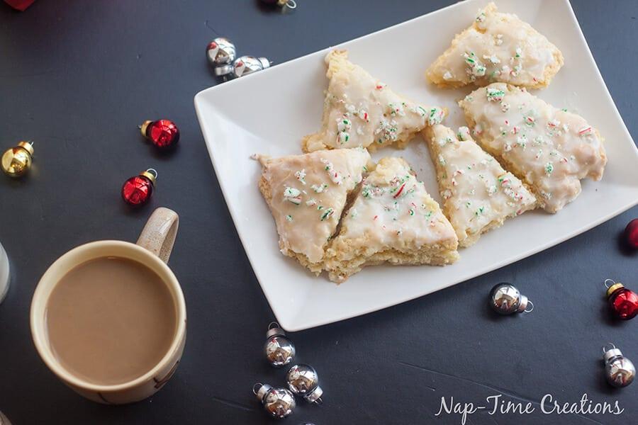 vanilla peppermint scones recipe