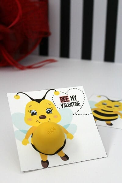 Bee-My-Valentine-Printable