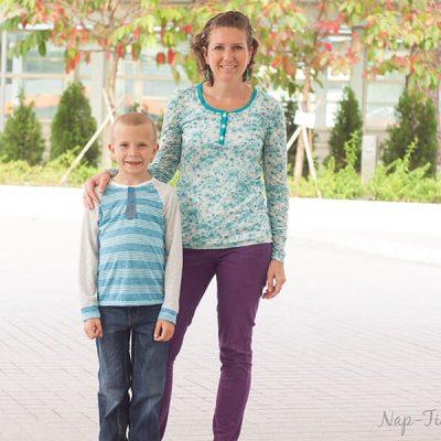 Henley Shirt Placket Tutorial – and free shirt patterns
