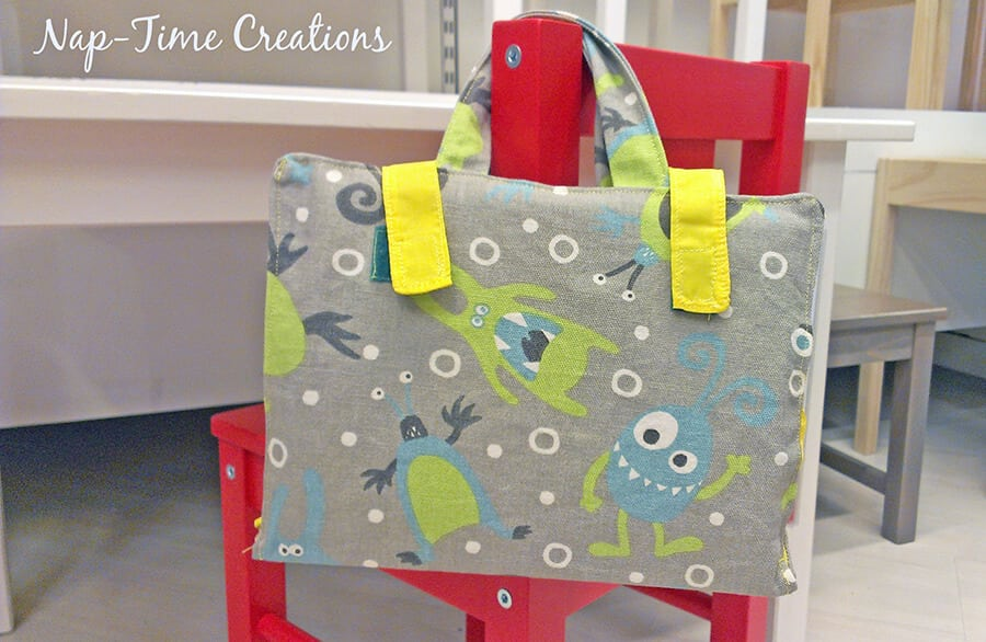 School Supplies Tote Tutorial with Sharpies 2