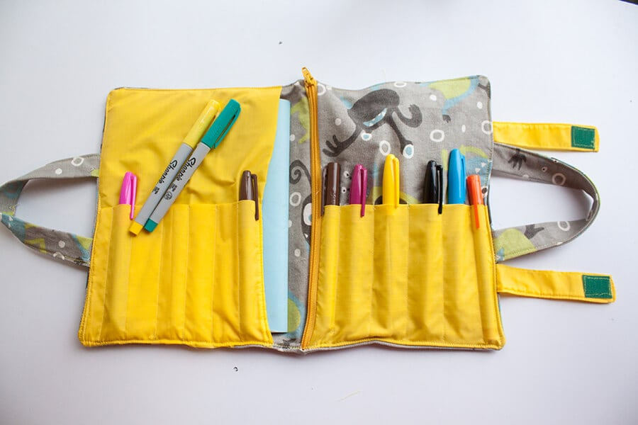 School Supplies Tote Tutorial
