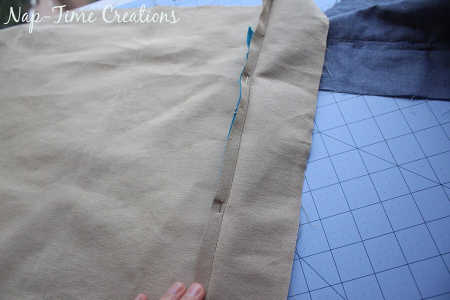zipper pillowcase tutorial