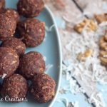 Dark Chocolate & Walnut Energy Bites- No Bake