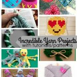 Fun Yarn Projects with Free Patterns and Tutorials