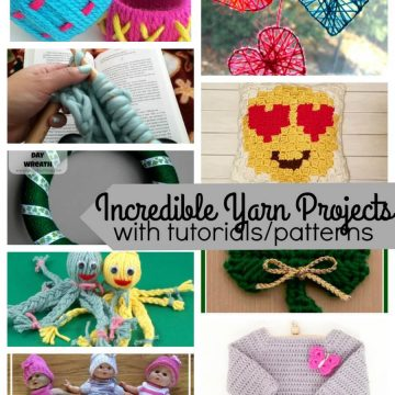 Fun Yarn Projects free patterns and tutorials from Nap-Time Creations