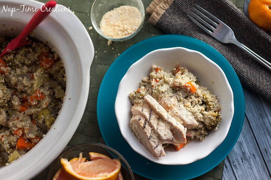 Italian Quinoa Chicken Salad 2