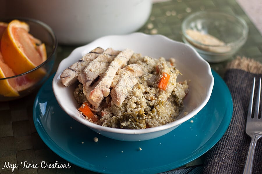 Italian Quinoa Chicken Salad 4