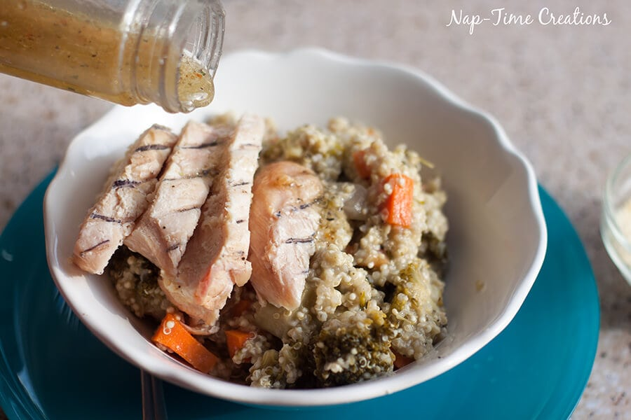 Italian Quinoa Chicken Salad 6