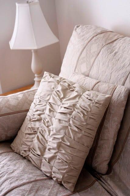 gathered pillow 9