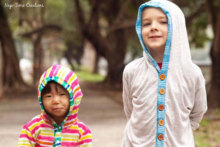 hooded-t-shirt-cardigan-free-pattern-for-kids-4