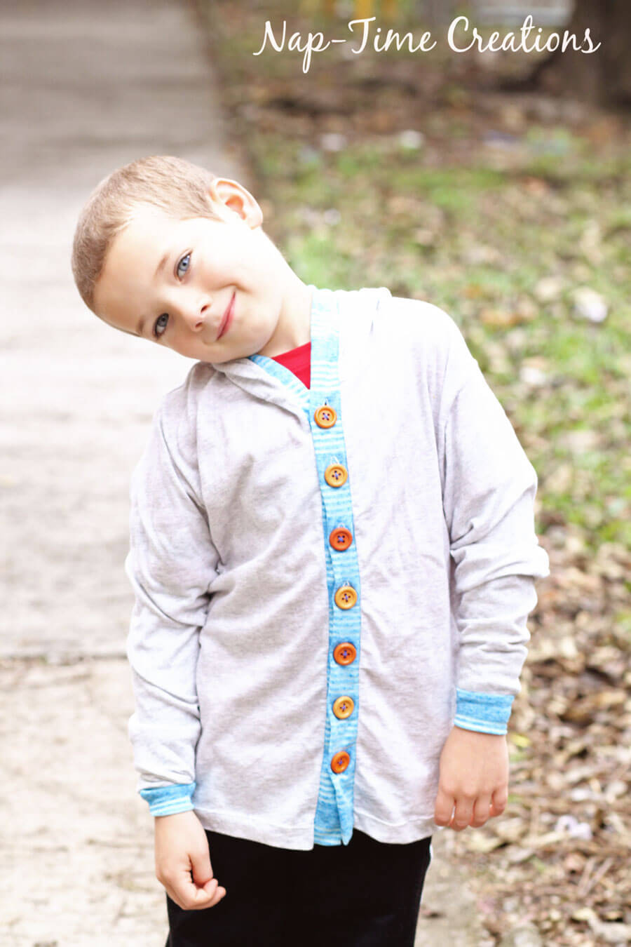 hooded-t-shirt-cardigan-free-pattern-for-kids