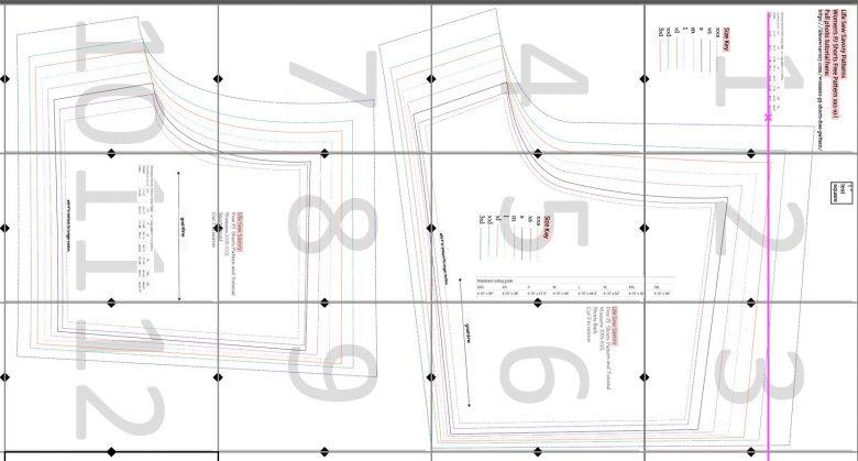 pj shorts layout guide
