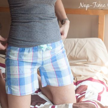 womens pj shorts pattern free