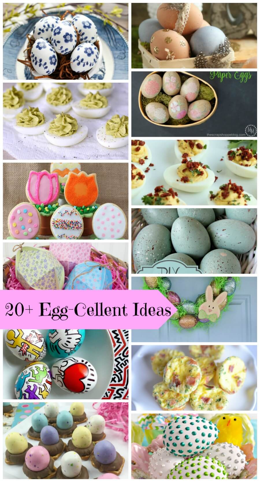 20+ Egg-Cellent Projects and Recipes from Nap-Time Creations