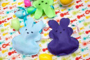 Easter Peeps Bunny Bags + GIVEAWAY