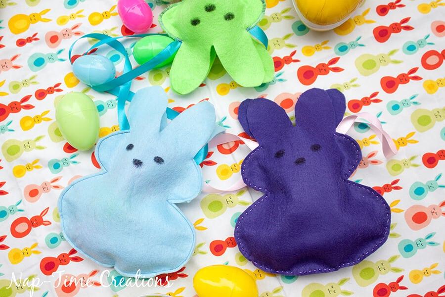 Easter Peeps Bunny Bags 2